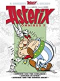 img - for Asterix Omnibus 5: Asterix and the Cauldron, Asterix in Spain, Asterix and the Roman Agent by Rene Goscinny (2013-05-02) book / textbook / text book