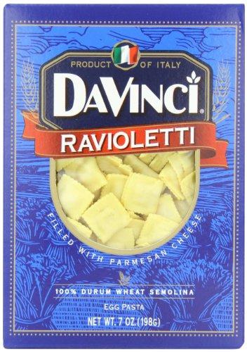 DaVinci Ravioletti, 7-Ounce Boxes (Pack of (Pasta 7 Ounce Box)