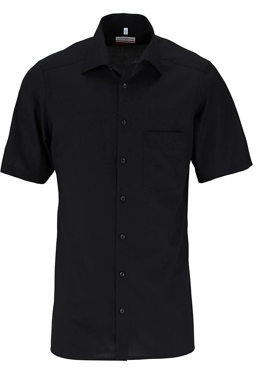 TALLA 43. Marvelis - Camisa formal - Básico - Clásico - manga 3/4 - para hombre