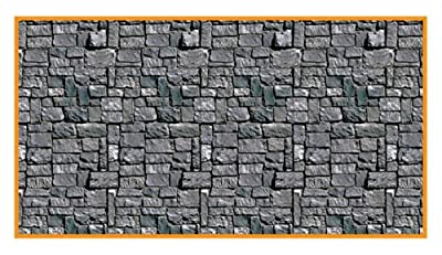 30' Stone Wall Backdrop