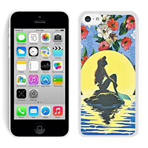 iPhone 5C The Little Mermaid White Screen Phone Case Charming and Nice Design