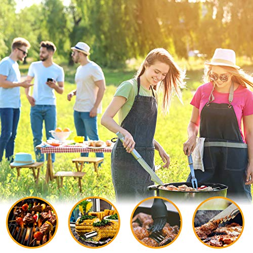 45 PCS show original title Details about  /Morole Grill Cutlery Set Grill 45pc Grill Accessories BBQ Suitcase with 45 PCs