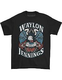 Waylon Jennings - Mens Lonesome T-Shirt
