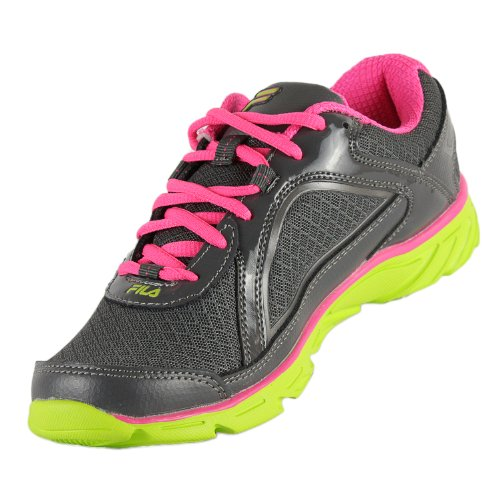 Neon Green Shoe Prompt Pink Running Womens Fila Grey qgRapBxw