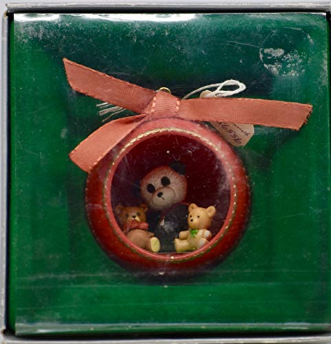 1987 - Enesco Corp - Three Little Bears - Hanging Ornament - Rare - Collectible