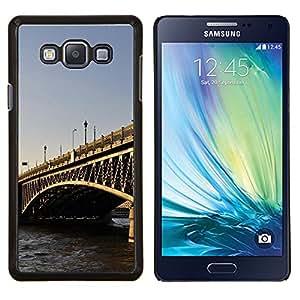 LECELL--Funda protectora / Cubierta / Piel For Samsung Galaxy A7 A7000 -- Arquitectura Puente de Londres --