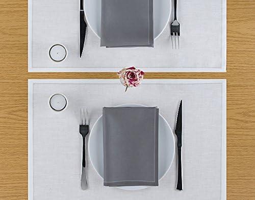 12.6 x 12.6 in 12 units per roll Cotton Dinner Napkin Black