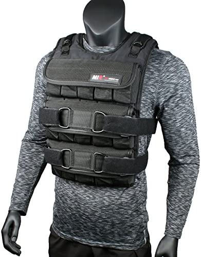 miR PRO Weighted Vest with Zipper Option 45lbs – 90lbs