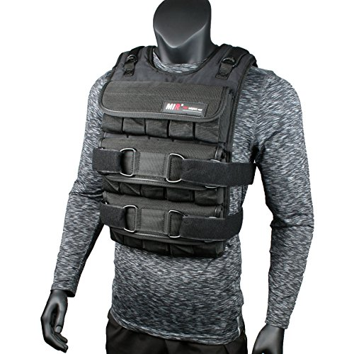 (Mir ADJUSTABLE WEIGHTED VEST (20LBS - 140LBS) (PRO - 75LBS))