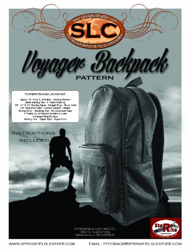 Voyager Carry On - Springfield Leather Company's Voyager Backpack Pattern
