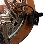VINTAGE REGAL RESONATOR GUITAR PICKUP with FLEXIBLE MICRO-GOOSE NECK by Myers Pickups ~ See it in ACTION! Copy and paste: myerspickups.com