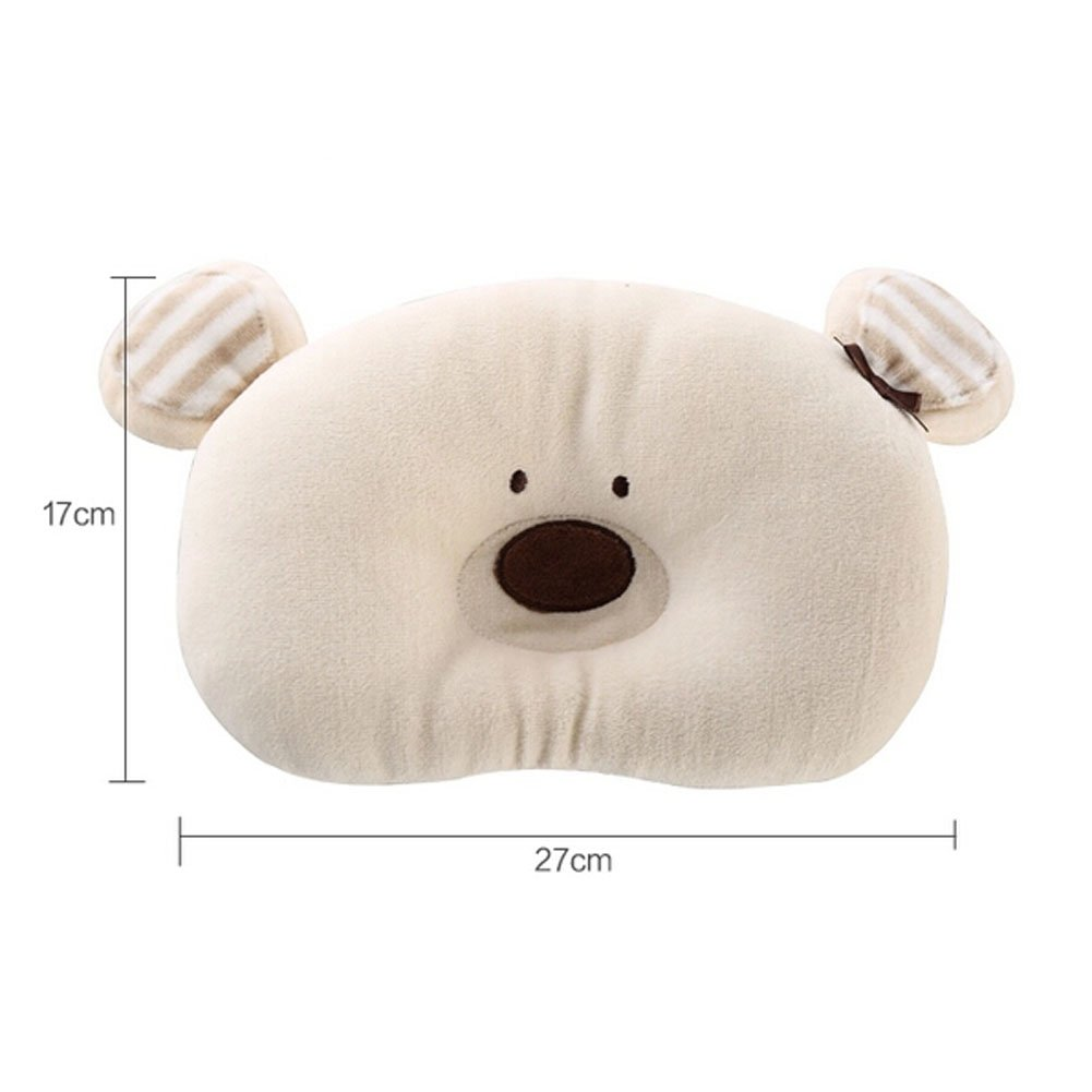 [Bear] Cute Cushion Soft Cotton Cushion Animal Little Cushion, 6.7 x 10.6 inches