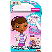 Disney Doc McStuffins Imagine Ink Coloring Book (Includes Mess Free Marker)