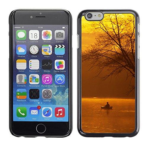 "Premio Sottile Slim Cassa Custodia Case Cover Shell // V00002605 Pêche de Kayak un // Apple iPhone 6 6S 6G 4.7"""