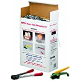 """Nifty Products SEP48HD 1003 Piece Heavy Duty Polypropylene Jumbo Strapping Kit, 7200' Length x 1/2"""" Width, White"""