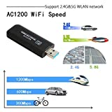 AC1200 Wireless USB WiFi Adapter, Dual Band
