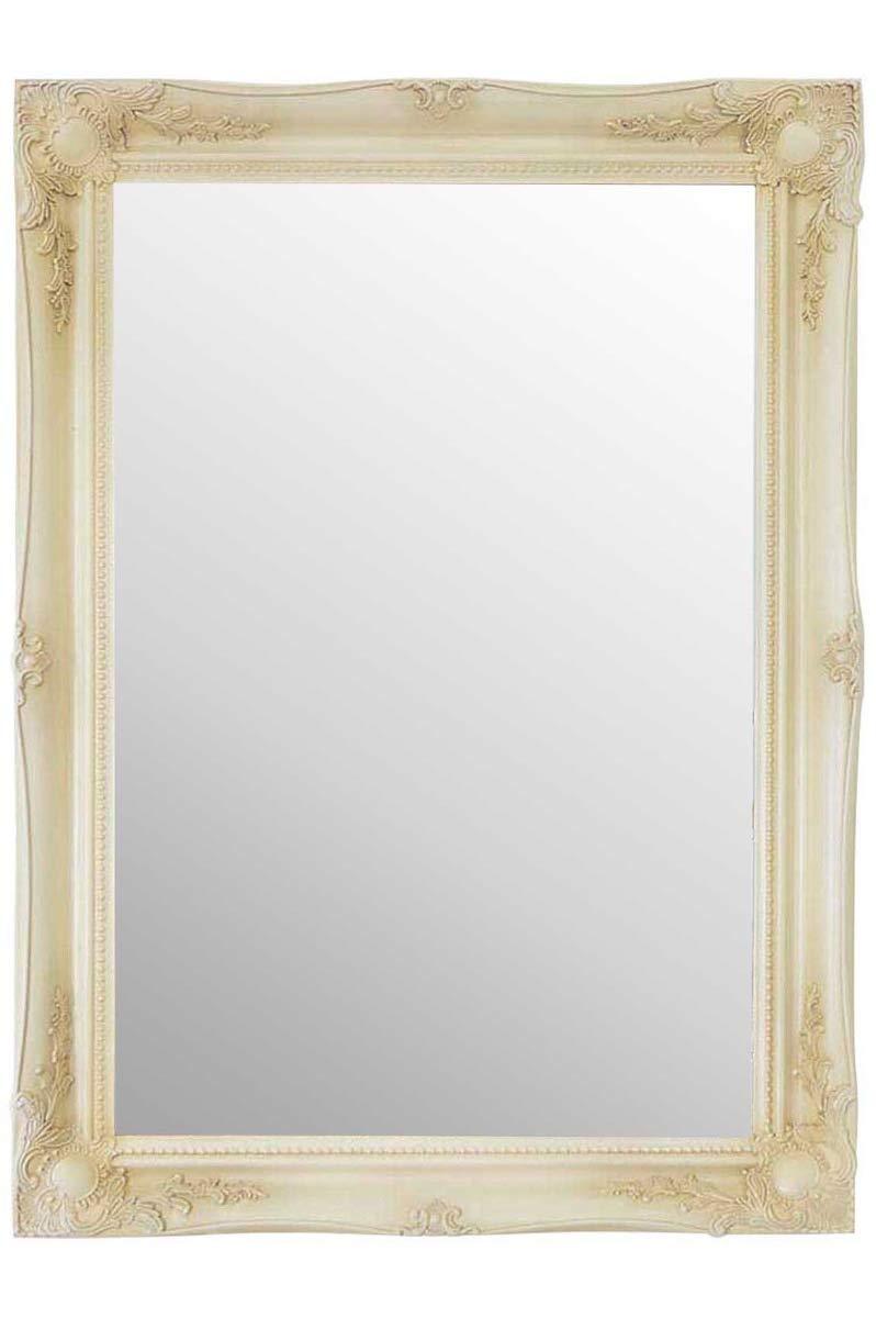 MirrorOutlet 0, 9m x 2FT291cm x 66cm Grande Crema in Stile Antico Avorio Design Specchio da Parete