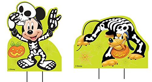 (Disney Mickey & Pluto Yard Stakes)