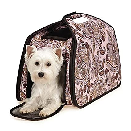 Amazon.com  Guardian Gear ZA6142 75 Ultimate Tent Carrier for Pets Pink Paisley  Soft Sided Pet Carriers  Pet Supplies  sc 1 st  Amazon.com & Amazon.com : Guardian Gear ZA6142 75 Ultimate Tent Carrier for Pets ...