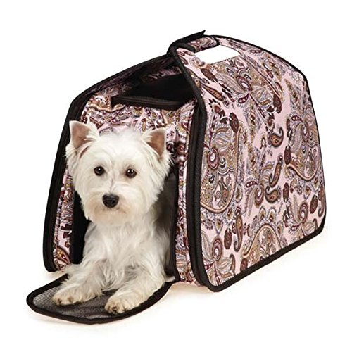 Guardian Gear ZA6142 75 Ultimate Tent Carrier for Pets, Pink Paisley