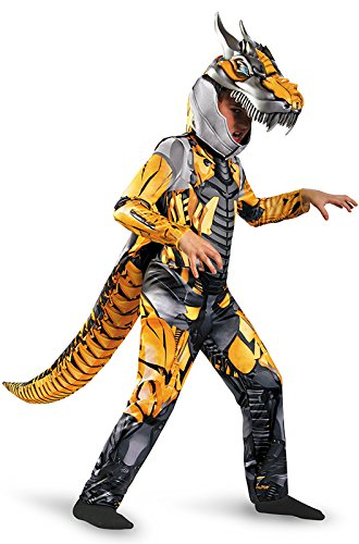 Transformers Age of Extension Grimlock Deluxe Boys Costume,