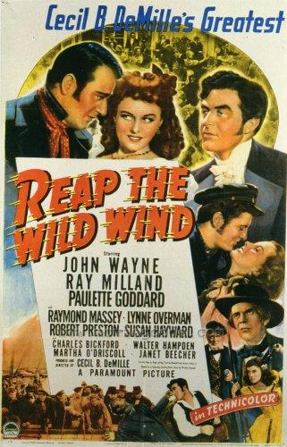 Up the Wild Wind Movie Poster (27 x 40 Inches - 69cm x 102cm) (1942) -(Ray Milland)(John Wayne)(Paulette Goddard)(Raymond Massey)(Robert Preston)(Lynne Overman)