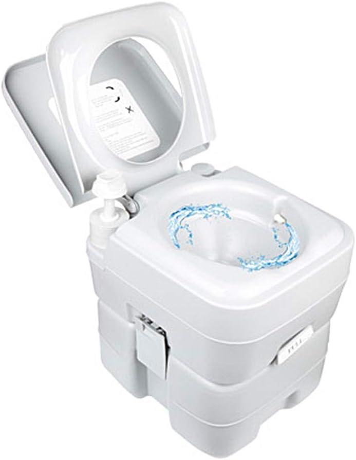HOYOCE Inodoro De Campamento, 20L Portátil WC Quimico ...
