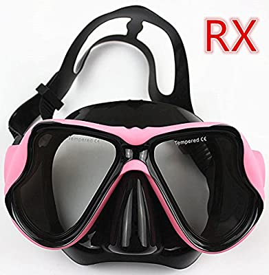 fb081a9b67d Amazon.com   YEESAM SWIM Diving Mask Prescription Nearsighted Myopia Myopic  - Scuba Dive Snorkel RX Optical Corrective Lenses Customized (-1.5)    Sports   ...