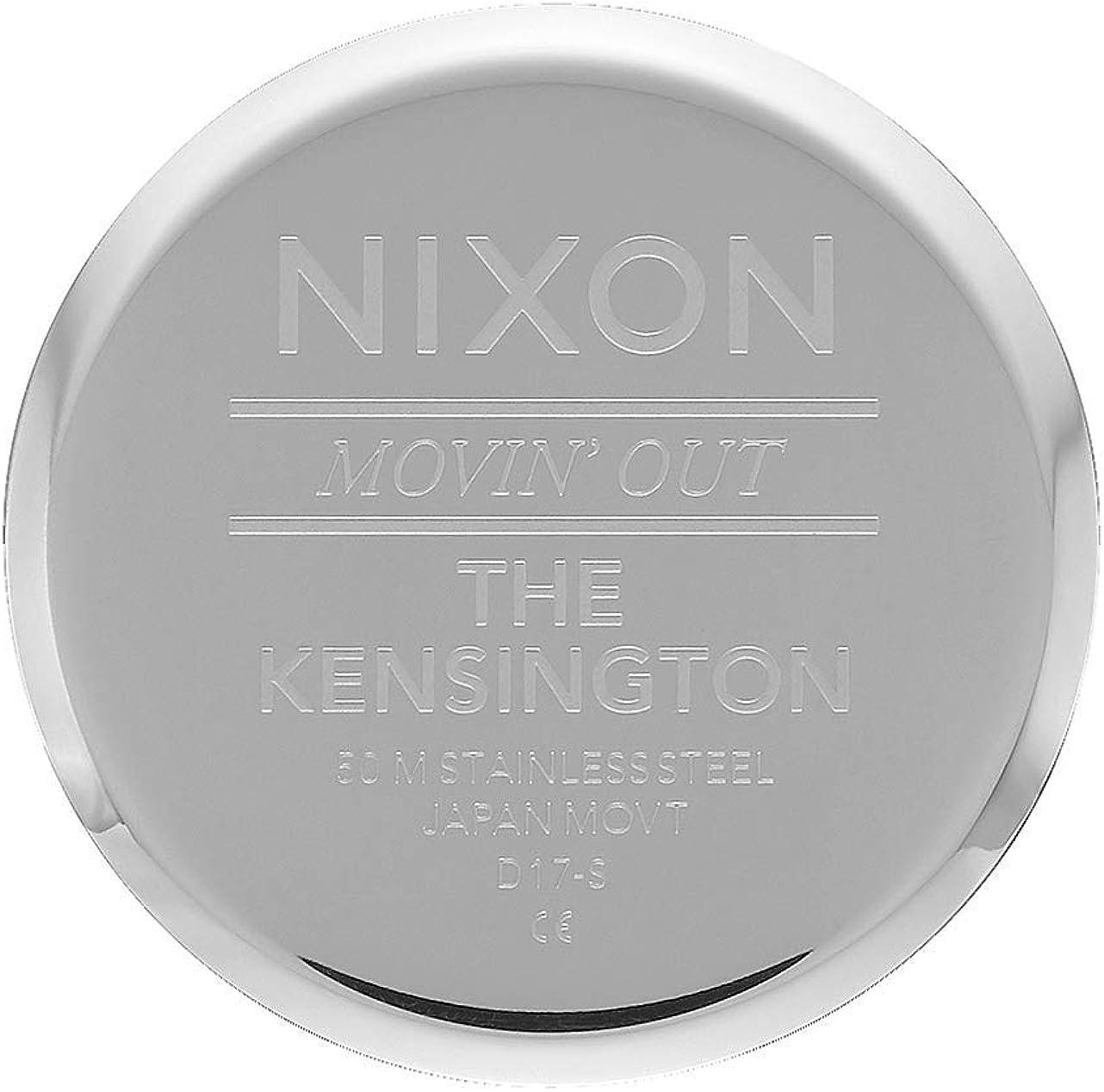 NIXON Kensington Stainless Steel Mesh Bracelet A1229 Silver / Safety