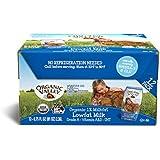 Organic Valley, Organic Milk Boxes, 1% Plain Low Fat Milk, 6.75 Ounces (Pack of 12)