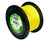 Power Pro 33400501500Y Maxcuatro Braided Fishing Line, 50 lb/1500 yd, Hi-Vis Yellow For Sale