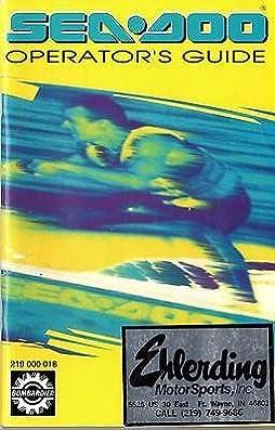 96 1995 seadoo manual page 1 1995 seadoo sea doo jet ski pwc rh usphw us 1995 Seadoo SPX 95 Seadoo Sportster