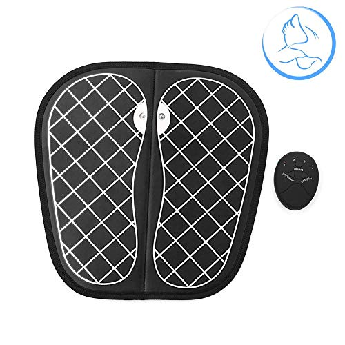 Electric Foot Massagers Pulses EMS Foot Care Cushion Intelligent Physiotherapy Massage Instrument Improve Blood Circulation Shiatsu Foot Massager Machine