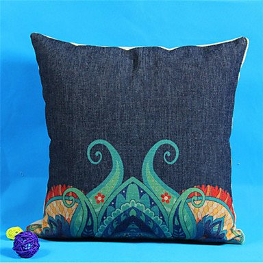 100% 45 x 45 cm funda de almohada de lino IKEA Chic, Colour ...