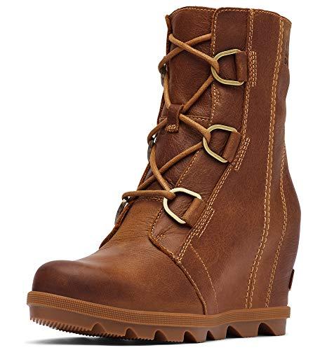 Sorel - Women's Joan of Arctic Wedge II Ankle Boot, Elk, 8 M US