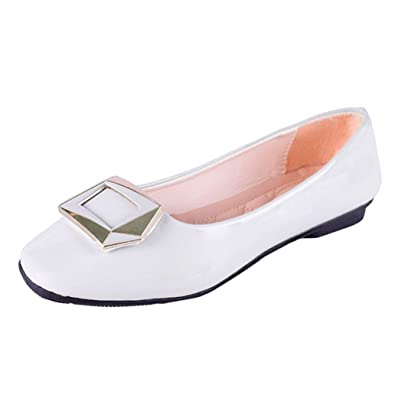 En overdose Boucle Chaussures Soldes Femme Ballerines Fille Cuir Iq5pwB8B