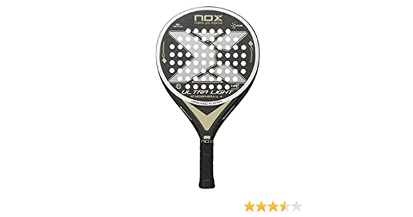 Pala de pádel Ultralight Atmosphera U4 Nox: Amazon.es: Deportes y aire libre