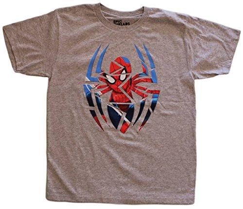 Marvel Big Boys' Spiderman Spider View Tee S(8)