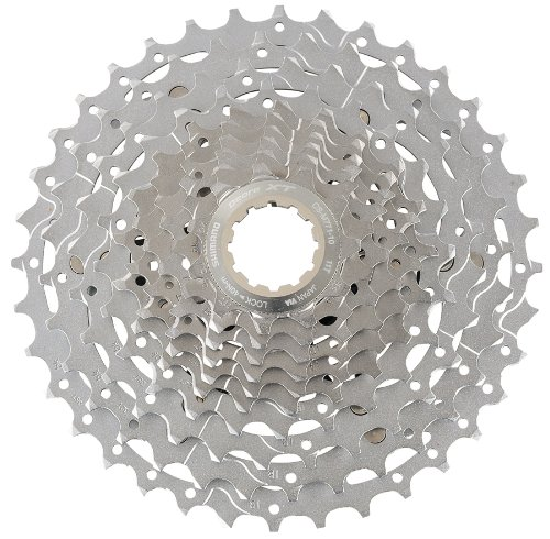 SHIMANO CS-M771 XT Bicycle Cassette (10-Speed, 11/36T, Silver) ()