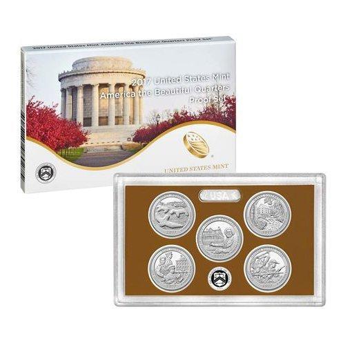 2017 S United States Mint America the Beautiful Quarters Proof Set US Mint (State Quarter Annual)