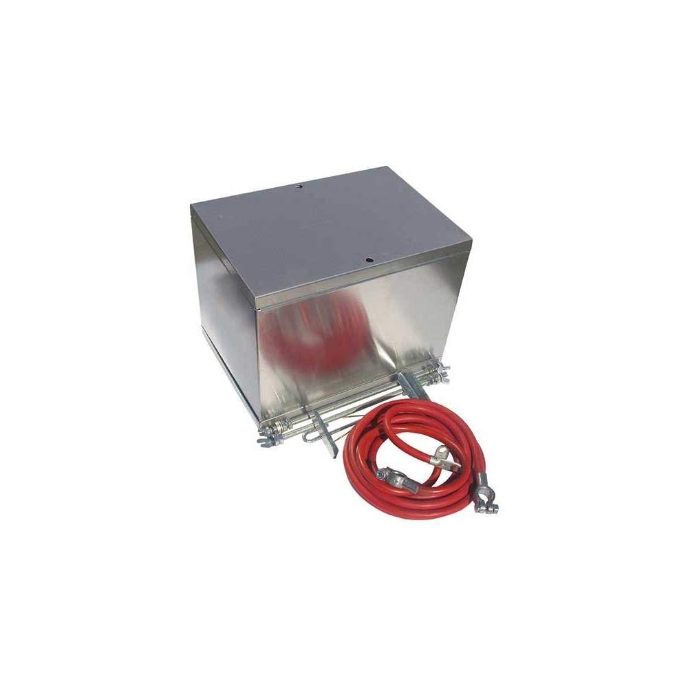 Big End Performance 58100 Remote Mount Aluminum Battery Box Kit by Big End Performance Products