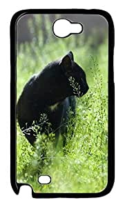 Almost Like A Panther Custom iSamsung Galaxy Note II N7100 Case Cover ¡§C Polycarbonate ¡§CBlack