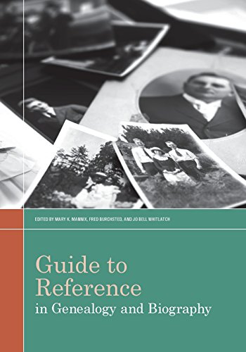Guide to Reference in Genealogy and Biography by Amer Library Assn Editions