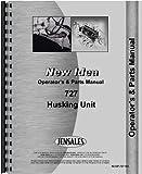 New Idea 737 Husking Unit Operators & Parts Manual