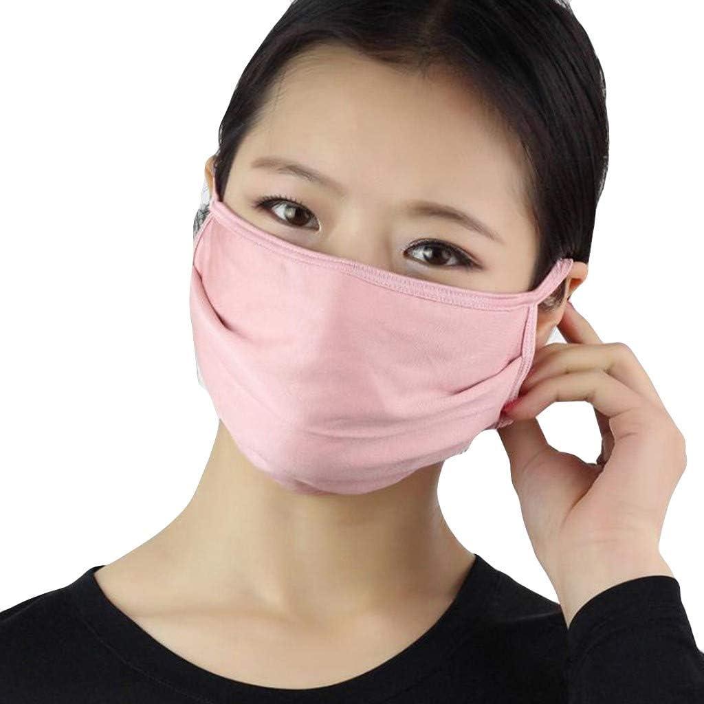 YYMQ médico Reutilizable, médico de Boca, médico de respiración con válvula de respiración, Ganchos para la Oreja y Forro Suave, médico Facial con válvula