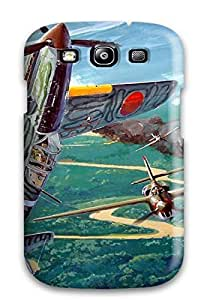 Galaxy S3 Case Cover Aircraft Military Man Made Military Case - Eco-friendly Packaging