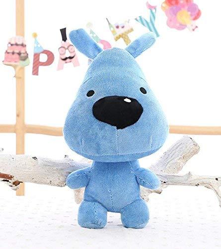 EMILF Home Carino Morbido Diverdeimento 50 Centimetri Peluche Cane Animale Morbido Giocattolo Cane Bambola Regalo per Bambini (Blu)