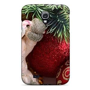 Bernardrmop Scratch-free Phone Case For Galaxy S4- Retail Packaging - Snowman
