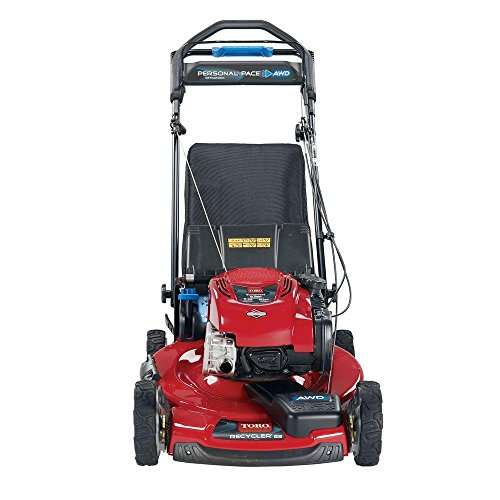 Recycler Personal Pace 22 in. All-Wheel Drive Variable Speed Self-Propelled Gas Lawn Mower with Briggs & Stratton (Personal Recycler)