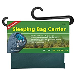 """Coghlan's Sleeping Bag Carrier, 22"""" x 36"""" Color may vary"""